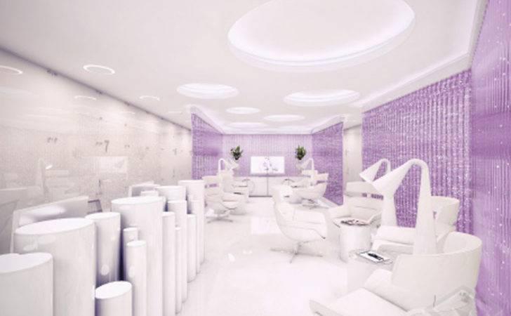 Futuristic Surgery Clinic Design Interior Architecture