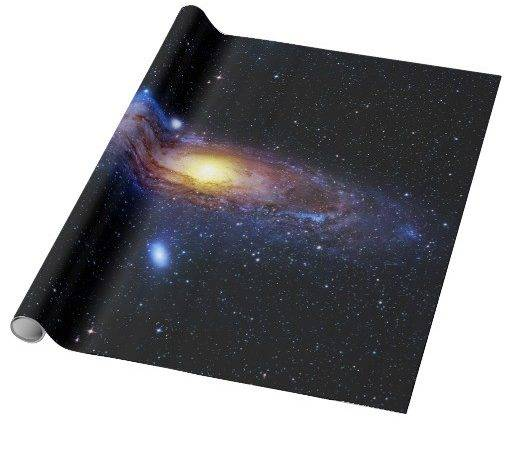 Galaxy Unknown Wrapping Paper Zazzle