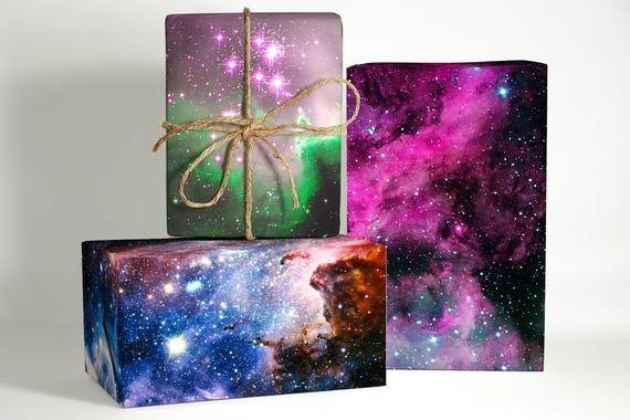 Galaxy Wrapping Paper Collection Space