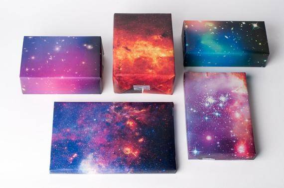 Galaxy Wrapping Paper Normansprintery Etsy