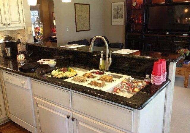 Galley Workstation Traditional Kitchen Oklahoma