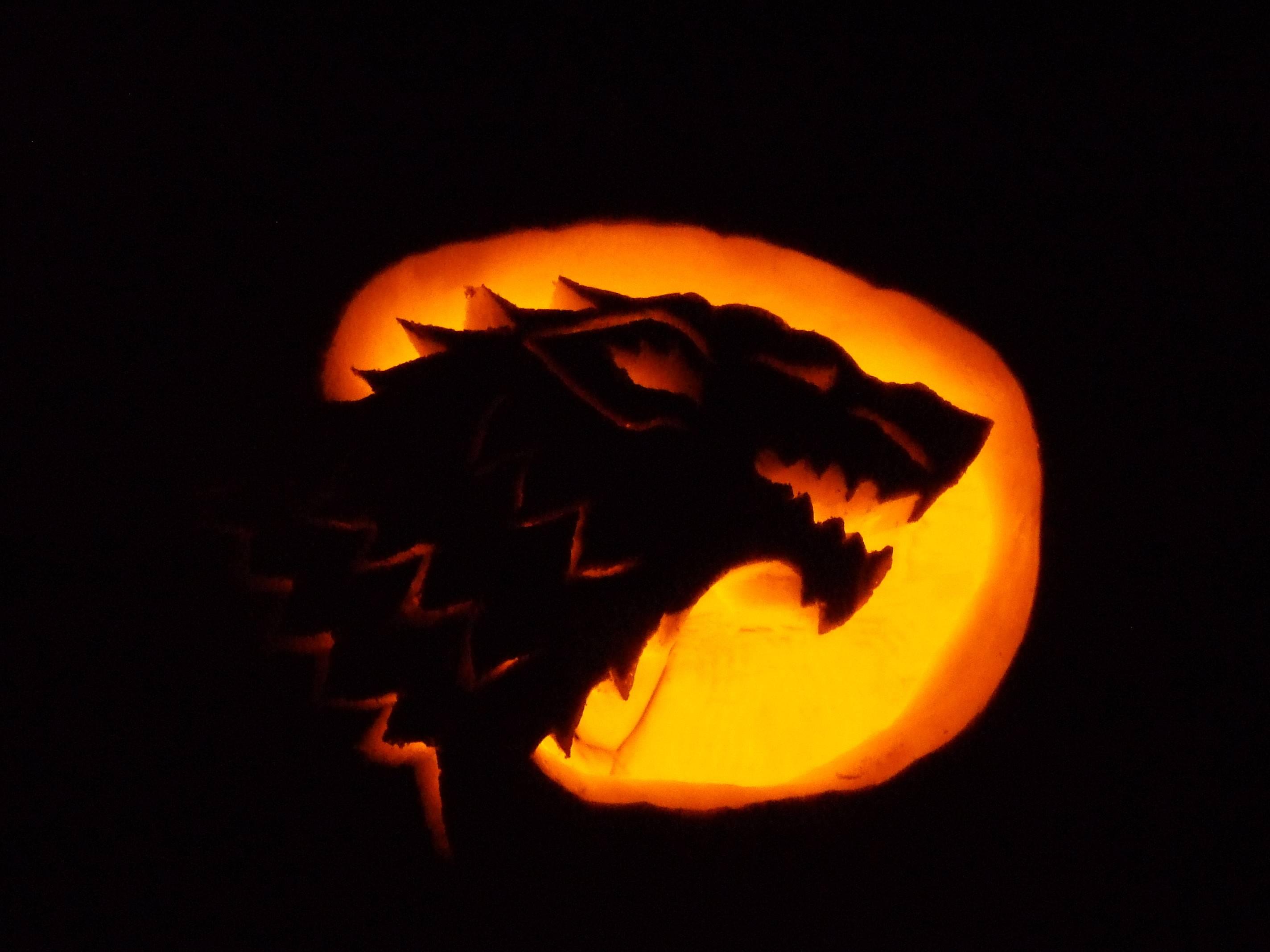 Game Thrones Pumpkin Halloween