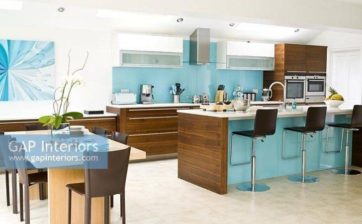 Gap Interiors Large Modern Open Plan Kitchen Diner