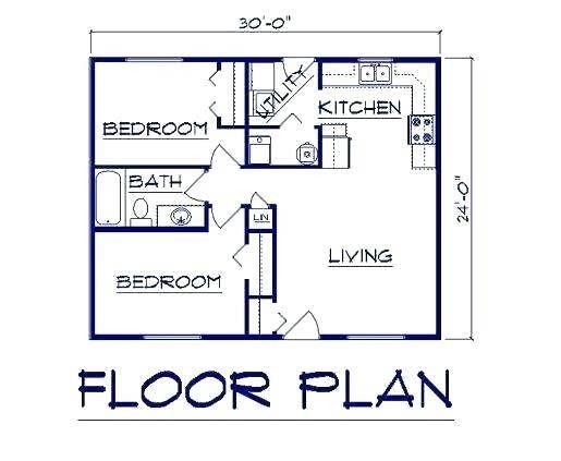 Garage Conversion Adu Floor Plan Accessory Dwelling Unit