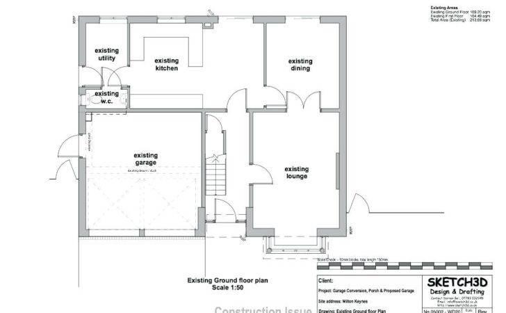 Garage Conversion Floor Plans