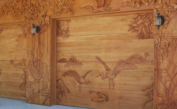 Garage Door Panels Wall Valances All Carved Wood Doors