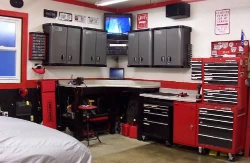 Garage Interior Design Ideas House Decoration