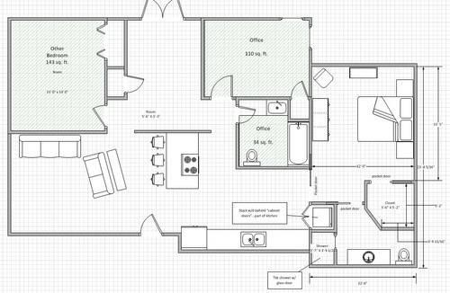 Garage Master Bedroom Conversion Feedback Please