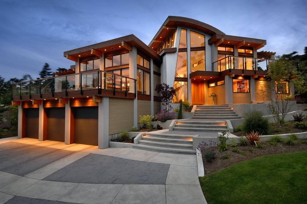 Garages Driveway Lighting Modern Home Victoria