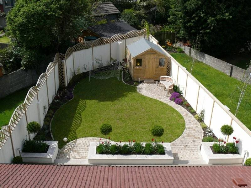 Garden Design Triangular
