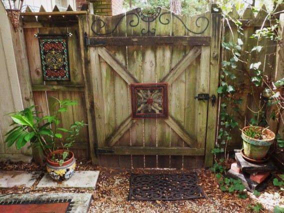 Garden Fence Art Google Search Outdoor Decorating Pinterest