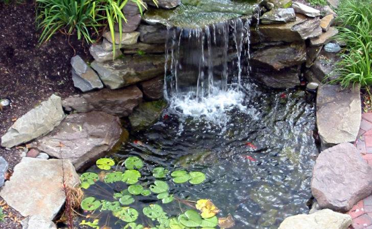 Garden Landscaping Charming Backyard Pond Which