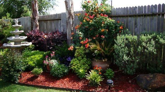 Garden Pergola Backyard Landscape Gardening Design