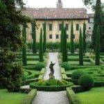 Garden Statue Cypress Trees Heads Pinterest