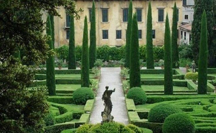 Garden Statue Cypress Trees Heads Pinterest