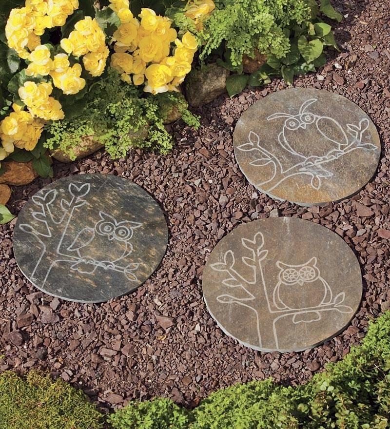 Garden Stepping Stones Design Ideas Decoration