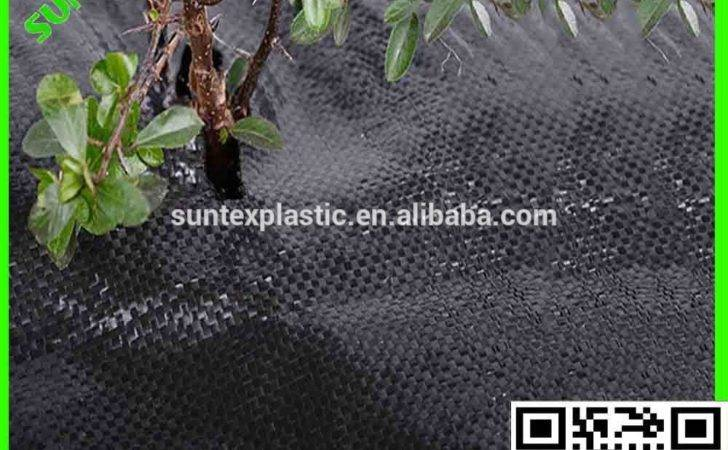 Garden Used Plastic Black Landscape Barrier Fabric Anti Weed Mat