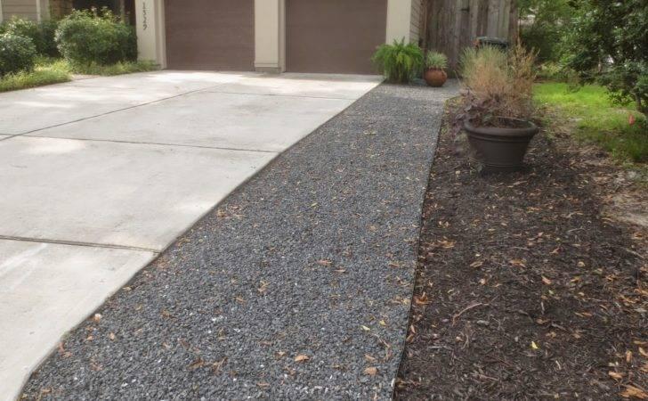 Gardener Used Black Star Gravel Metal Border Prevent
