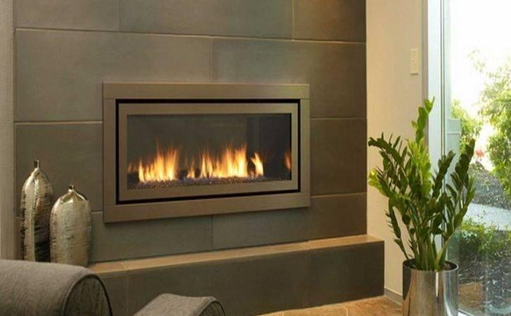 Gas Fireplaces Modern Corner Fireplace Wall