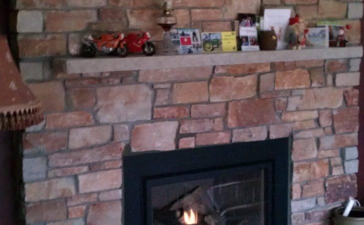 Gas Insert Chilton Sedona Rustic Stone Twin City Fireplace