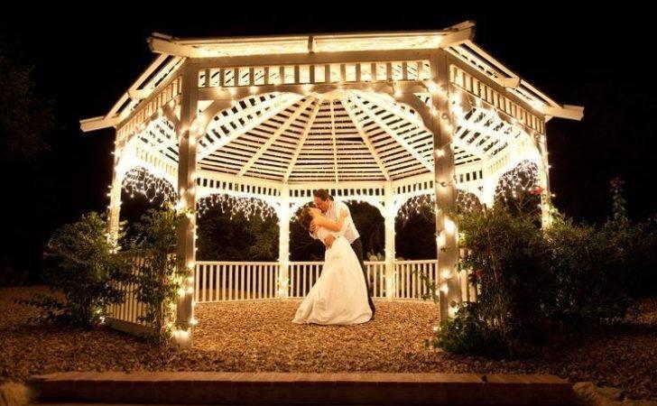 Gazebo Lights Wedding Ideas Pinterest