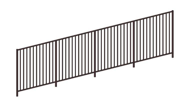 Generic Metal Railings Bim Objects Families