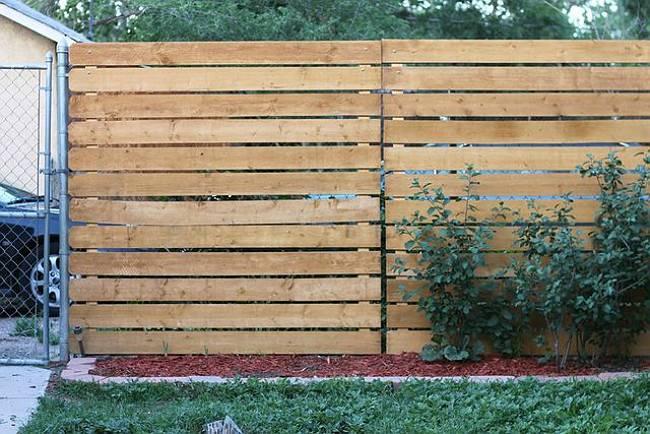Genius Easy Way Add Privacy Chain Link Fence Bob Vila