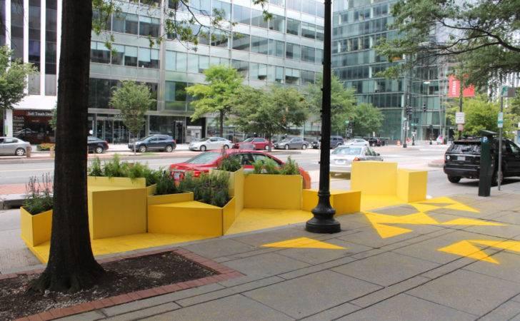 Gensler Designs Bright Yellow Parklet Architect Magazine