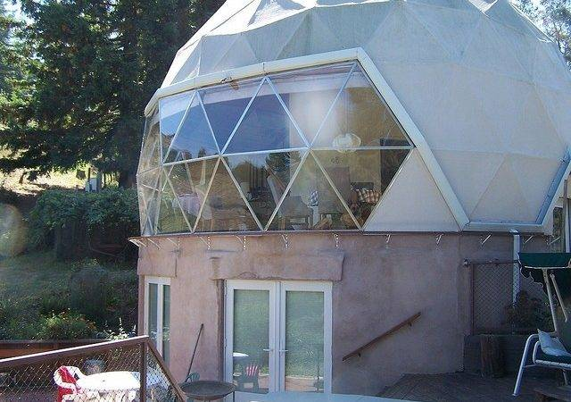 Geodesic Dome Home Pinterest