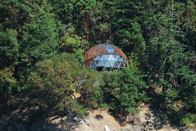 Geodesic Dome Homes Pinterest