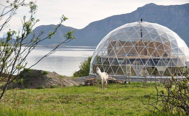 Geodesic Dome House Gorgeous Solar Crowns Cob