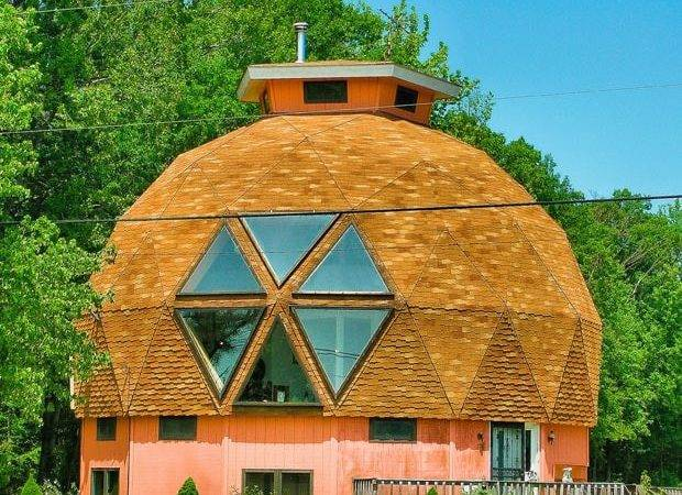 Geodesic Dome House Near Michael Maryland Usa