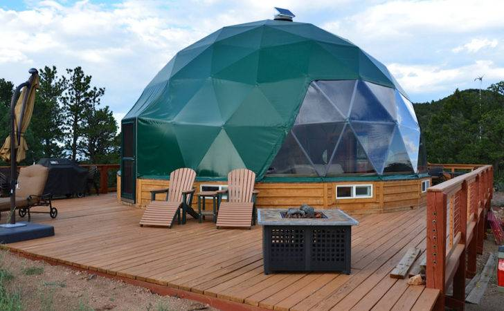 Geodesic Dome House Tiny Swoon