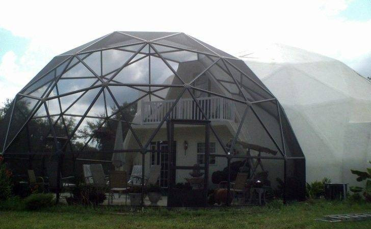 Geodesic House Screened Porch