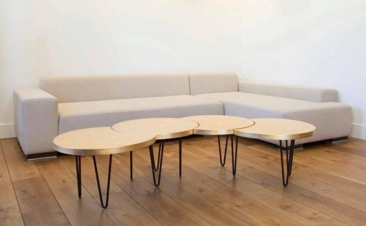 Geometric Modular Coffee Table