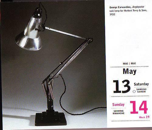 George Carwardine Anglepoise Task Lamp