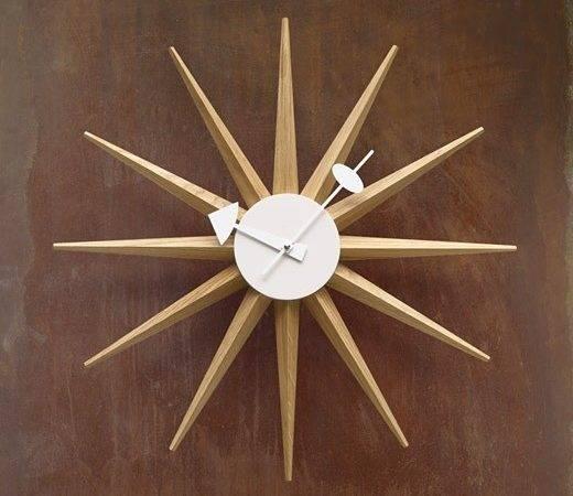 George Nelson Sunburst Clock Other Rooms Pinterest