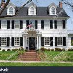 Georgian Colonial House Shutterstock