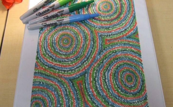 Get Creative Sharpies Decorate Your Binders Notebooks