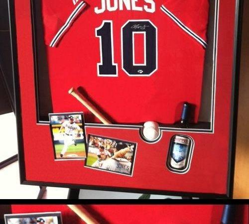 Get Inspired Personalized Custom Framed Baseball Jersey