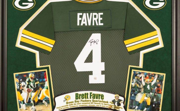Get Your Autographed Jersey Framed Luck Brady Montana Ect Man Cave
