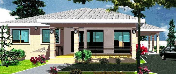 Ghana House Plans Krakye Plan