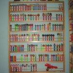 Giant Pez Display Shelf Holds Dispensers Jtnsproducts