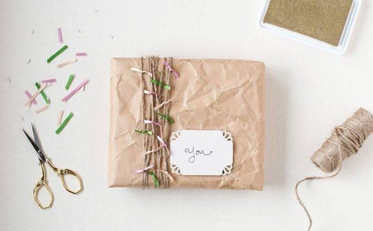 Gift Wrap Crumpled Kraft Anastasia Marie Pinterest Bro