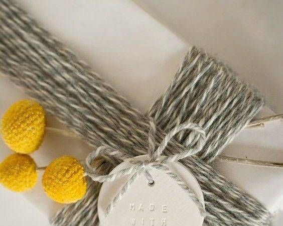 Gift Wrap Love Thickly Clustered Baker Twine Billy Ball