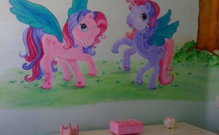 Girl Mural Wall Murals Childrens