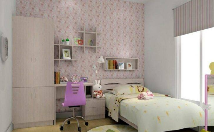 Girl Room Interior Design Pink