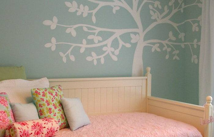 Girls Bedroom Ideas Vinyl Wall Mural