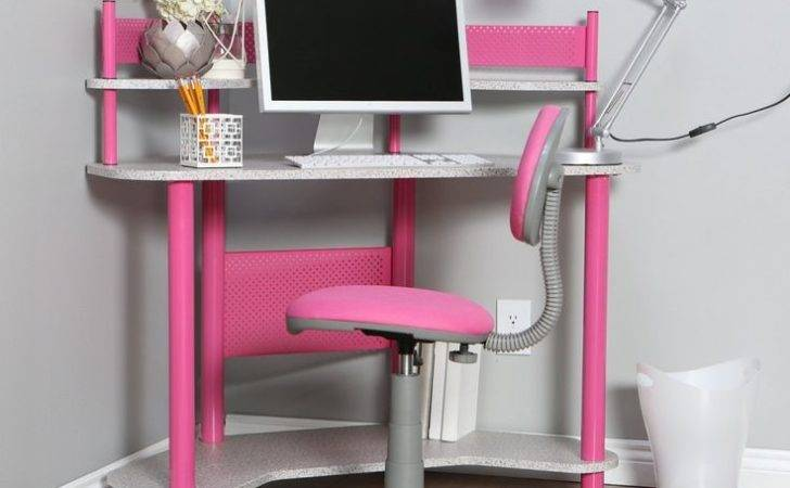Girls Computer Corner Desks Furniture Girl Bedroom Design Ideas