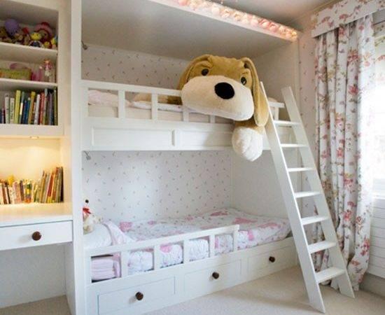 Girls Room Bunk Beds Bedroom Ideas Childrens